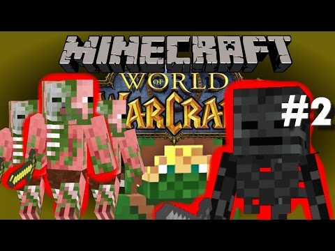 Minecraft World Of Warcraft (RPG) #2 - The Skeleton Boss!!!