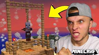 NAJGORSZA RZECZ JAKĄ ZROBIŁEM w Minecraft!