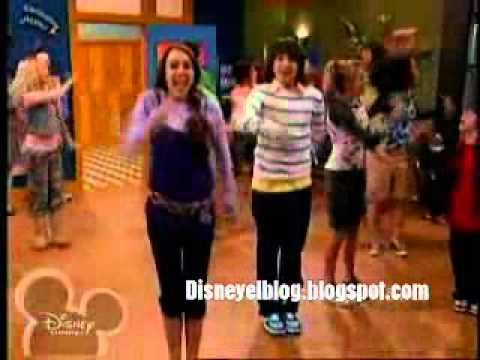 Danza de Los Huesos - Hannah Montana - YouTube
