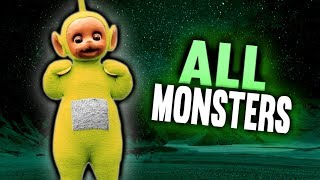 All Monsters / Todos los Monstruos | Slendytubbies 3