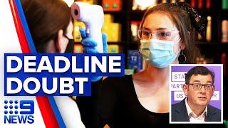 Coronavirus: Melbourne's roadmap out of lockdown hits speedbump | 9 News Australia