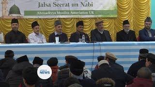 Jalsa Seeratun Nabi (sa) held in Baitul Futuh, London