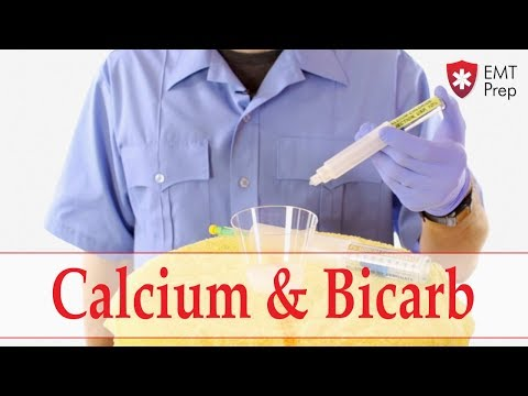 Mixing IV Calcium Chloride And Sodium Bicarb - EMTprep.com