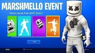 Fortnite Marshmello *Showtime* Live Event Rewards!