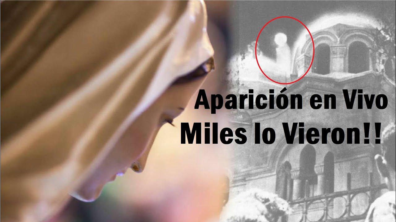 Miles de Musulmanes y Cristianos Contemplaron en Vivo la aparición de la Virgen María en el Cielo
