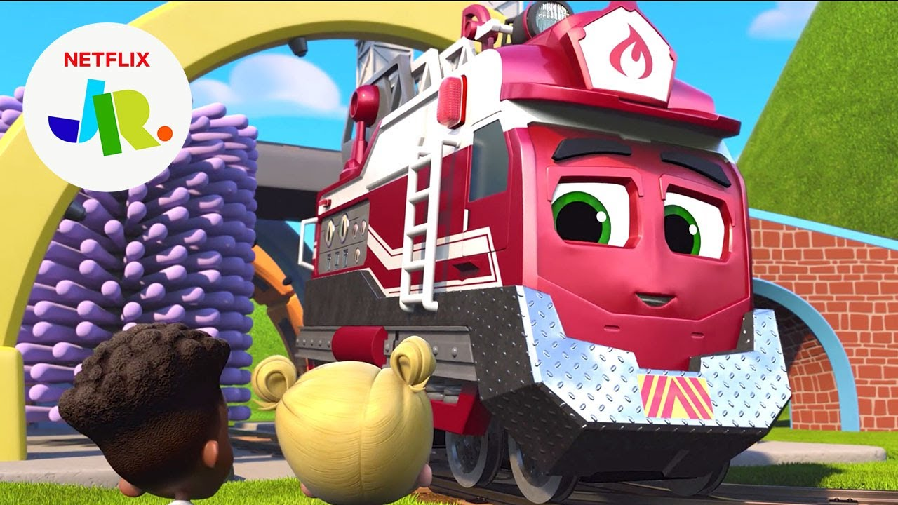Inspection Time 🚒 Mighty Express Short Tracks | Netflix Jr