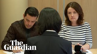 Wife of detained former Interpol chief makes emotional appeal
