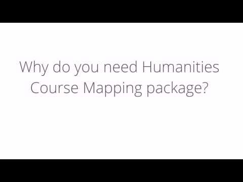 Your Humanities Course Mapper Assessment