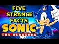 5 Strange Facts About Sonic The Hedgehog Games!