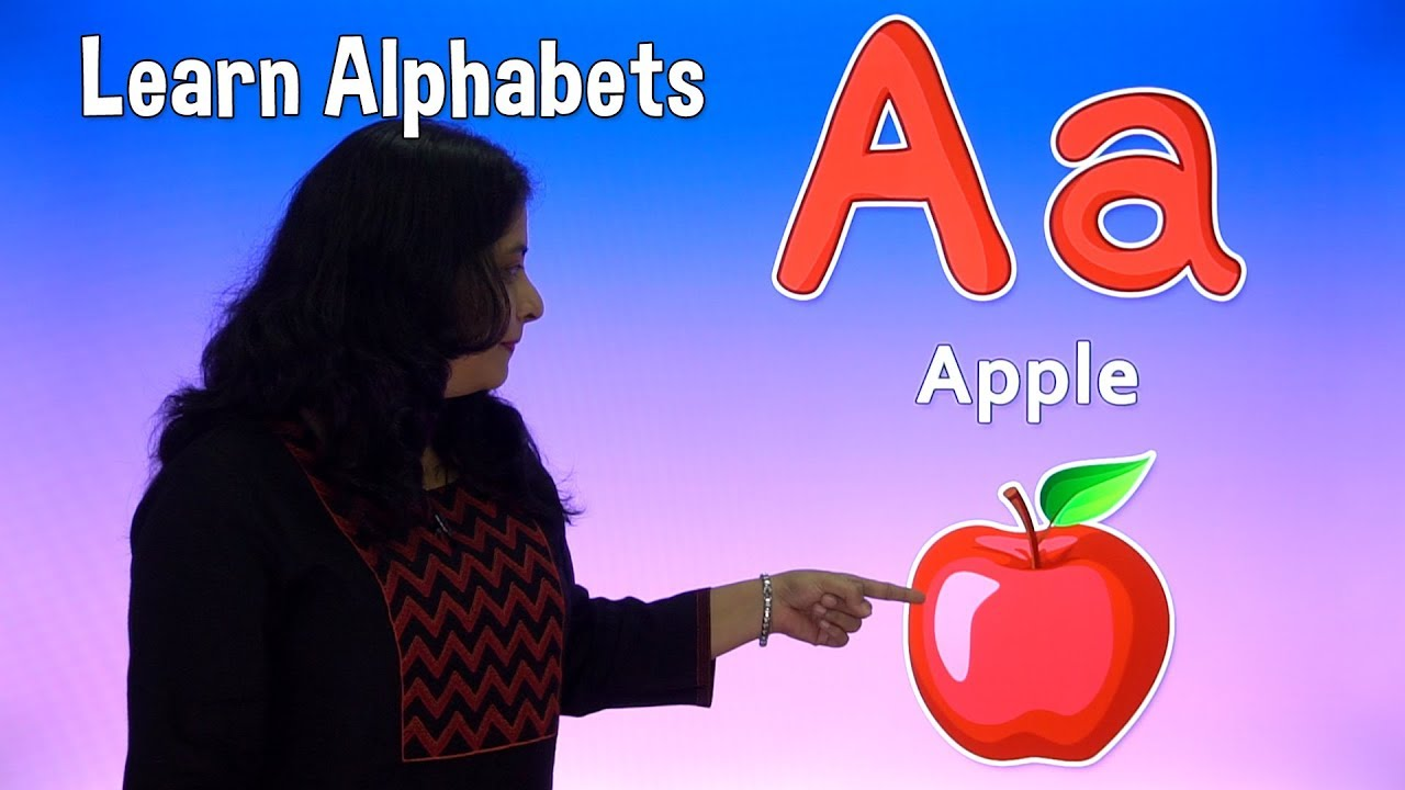 Learn Alphabets For Kids   Abcd With Words and Pictures   Pre School Learning Videos