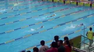 2015元朗區小學校際游泳比賽 女丙 50自初 盈
