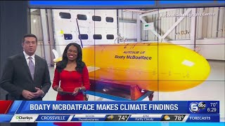Boaty McBoatface makes significant climate findings