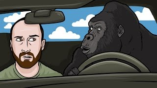 HARAMBE UBER DRIVER - King of the Kill Funny Multiplayer Moments with Friendos