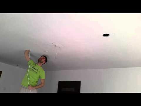 Jak przeciągnąć przewód elektryczny w suficie podwieszanym
