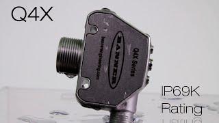 Q4X High-Pressure Washdown
