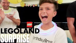 SURPRISING OUR SON WITH A TRIP TO LEGOLAND FOR HIS 10TH BIRTHDAY