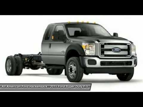 2015 FORD SUPER DUTY F-550 DRW Hackensack, NJ 15T204