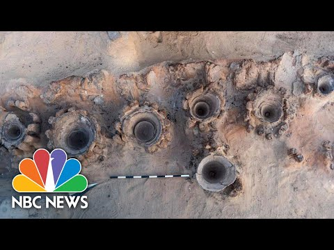 Ancient Brewery Discovered In Egypt By Archaeologists | NBC News
