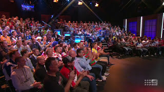 Beau Ryan Nude on the NRL Footy Show Naked
