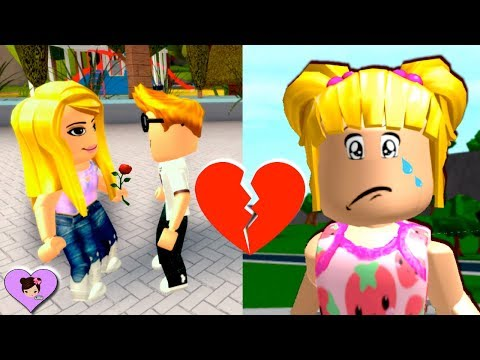 Baby Goldie is Sad About Her Crush - Roblox Bloxburg Roleplay Titi Games