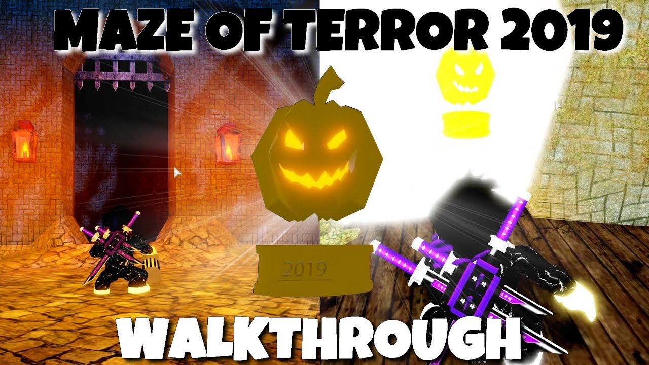 Maze Of Terror Walkthrough Complete Roblox Work At A Pizza Place 2019
