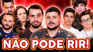 NÃO PODE RIR! com MASTERCHEF - Raul Lemos, Lorenzo Ravioli, Rui Morschel e Fernando Kawasaki