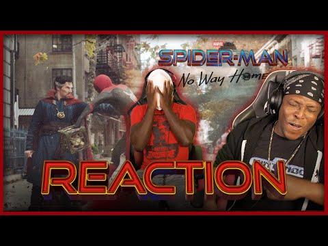 SPIDER-MAN: NO WAY HOME - Official Teaser Trailer Reaction