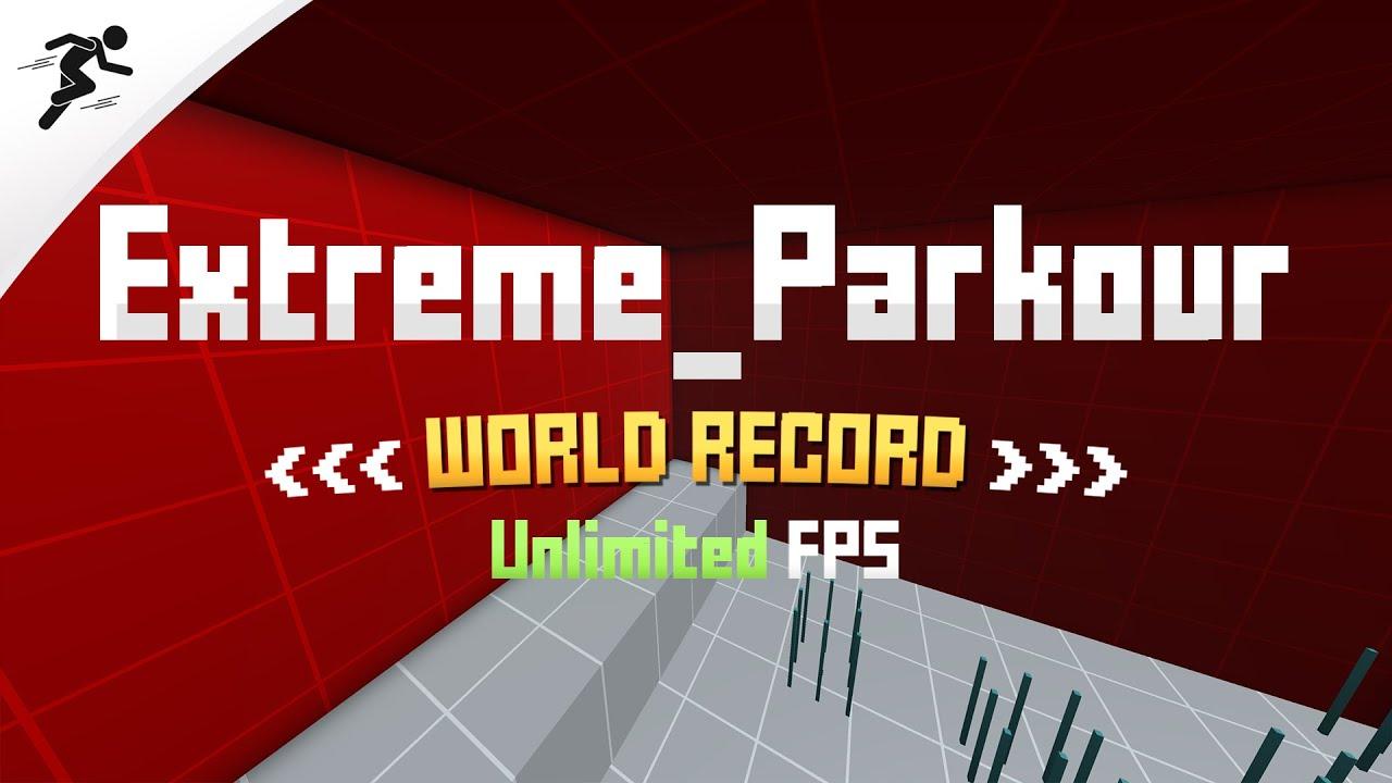 Extreme_Parkour WORLD RECORD - 1:57.3 Speedrun (Thorgrim12)   Krunker.io