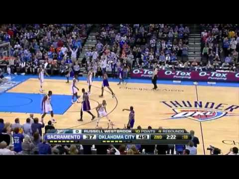 Russell Westbrook's NASTY alley-oop from Kevin Durant ... Russell Westbrook And Kevin Durant Alley Oop