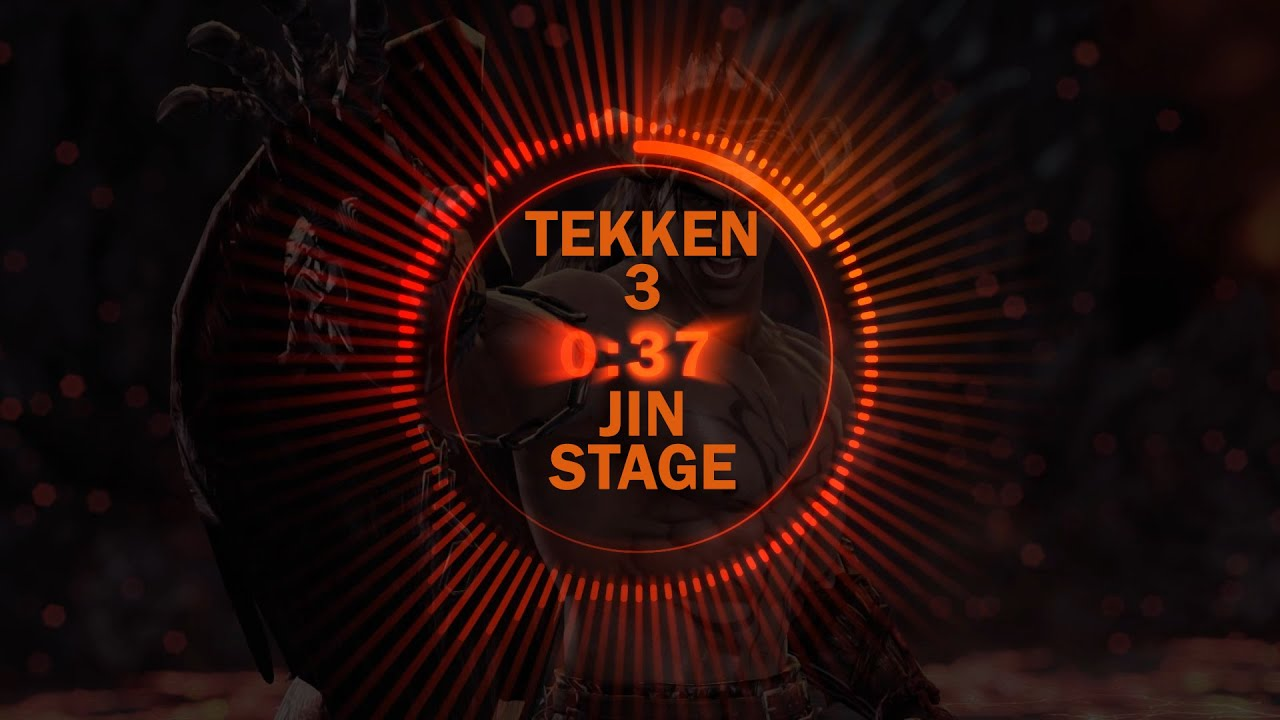 Tekken 3 Jin Stage Youtube