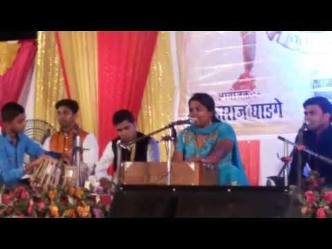 Marathi Bhajan....   Bolava vitthal By BHARTI MADHAVI