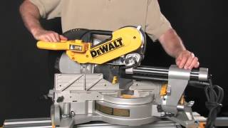 Dewalt 12'' 15 Amp Double Bevel Sliding Compound Miter Saw Is Very Portable
