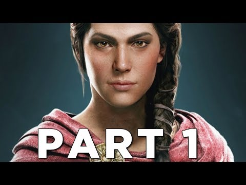 ASSASSIN'S CREED ODYSSEY Early Walkthrough Gameplay Part 1 - Kassandra (AC Odyssey)