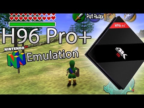 H96 Pro+ Nintendo 64 (N64) Emulator Test [Many Games] [Android TV Box]