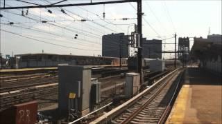 PATH/NJ Transit/Amtrak Action in Harrison/ACS-64 #604