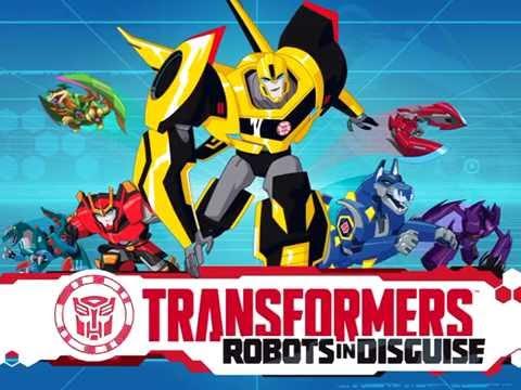 02  Сканируем Слипстрима из мультфильма: Трансформеры. Роботы под прикрытием. Играем в игру