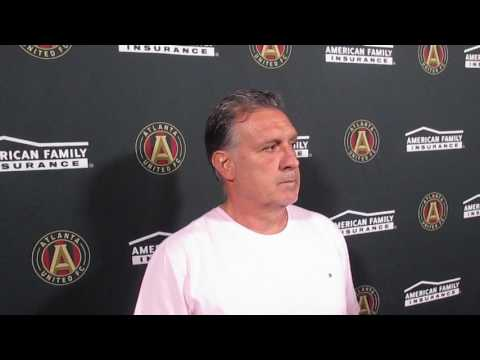 Free Kick: Atlanta United Tata Martino interview 4.13.17 #atlutd #mls