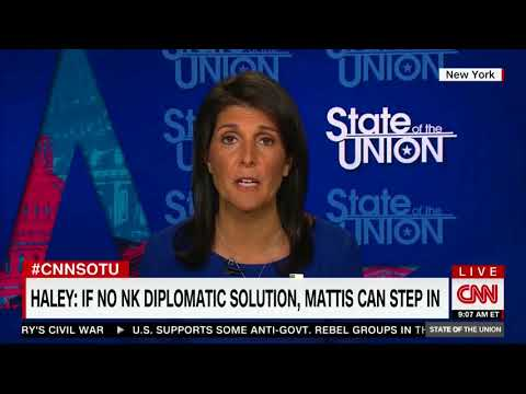 """Nikki Haley: """"North Korea will be destroyed"""" if they Continue their Reckless Behavior"""