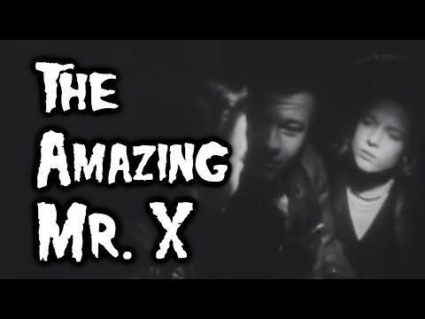 The Amazing Mr. X (1948) REVIEW - CONQUERING 200 FILMS