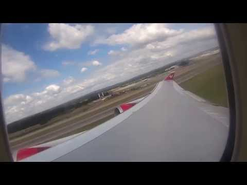 Taking off from Gatwick LGW and landing in Orlando MCO 2015