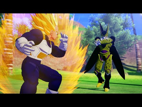 Dragon Ball Z: Kakarot - Super Vegeta Vs Semi & Perfect Cell