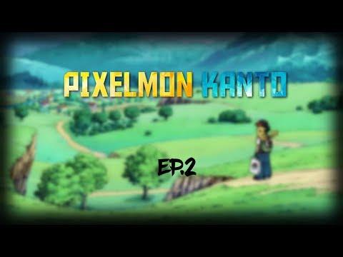 Pixelmon Kanto  - Episode 2 - (Minecraft Modded)