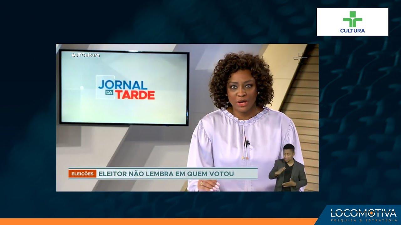 JORNAL DA TARDE: Apenas 20% se lembram em quem votou nas últimas eleições municipais, diz pesquisa