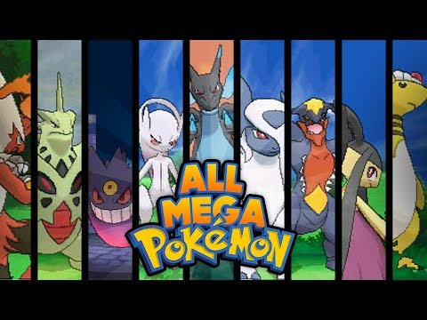 Pokemon X And Y - ALL MEGA EVOLUTIONS!