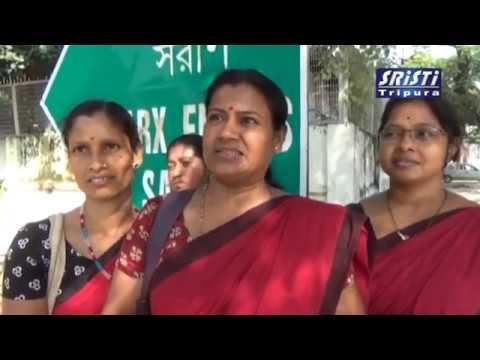 SRISTI TRIPURA LIVE NEWS 27 10 2017 HD VIDEO
