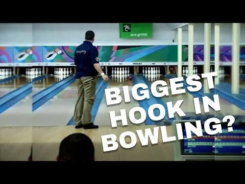 Biggest Hook You Will Ever See In Bowling Tom Daugherty