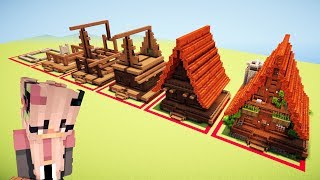 Minecraft Tutorial: How to Build a Cottage House/Fancy Log Cabin feat. Certaininbound