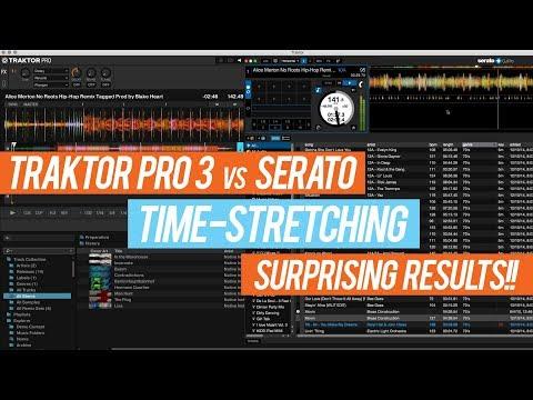 Traktor Pro 3 vs. Serato - Compare Audio Engine Time-Stretching