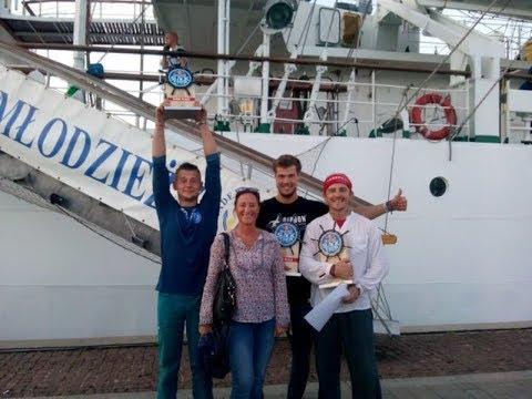 Gdynia Red Bull Slackship, najwyższe zawody trickline na świecie Dar młodzieży 19 08 2017