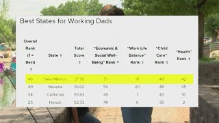 New survey ranks New Mexico as a tough place for dads